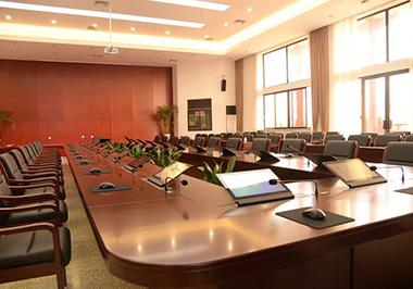title='黑龙江省某市天网指挥中心无纸化会议扩声中控系统'